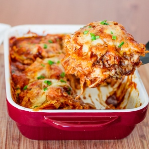 Baked Chicken Enchilada